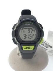 クォーツ腕時計・SPORTSGEAR/デジタル/グレー/ LAP MEMORY 60/スポーツギア