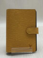 アジェンダPM_エピ/レザー/YLW/レディース/R2005E/6穴/手帳カバー