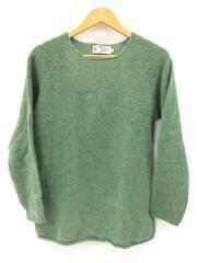 セーター(厚手)/40/ウール/GRN/無地/スコットランド製