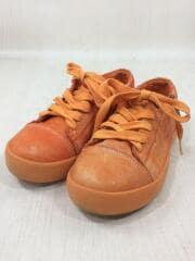 DIESEL/ディーゼル/キッズ靴/21cm/スニーカー/ORN/キッズ/ジップ/レザー