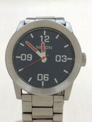ニクソン/クォーツ腕時計/THE PRIVATE/アナログ/--/NVY/SLV/メンズ