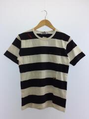 ヒステリックグラマー/Tシャツ/S/コットン/BLK/ボーダー/ブラック/0251CT13/メンズ