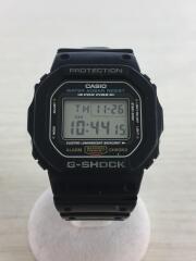 カシオ/クォーツ腕時計/DW-5600E/BASIC FIRST TYPE/デジタル/ラバー/BLK/黒