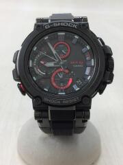 カシオ/ソーラー腕時計・G-SHOCK/MTG-B1000XBD-1AJF/アナログ/RED/赤/BLK/黒
