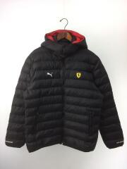 プーマ/フェラーリ/595424-02/ダウンジャケット/XL/ナイロン/BLK/黒/ブラック/メンズ