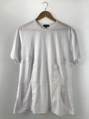Tシャツ/S/コットン/WHT//  PE-T015