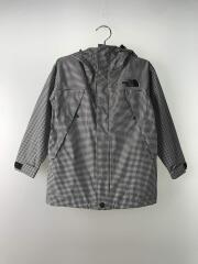 ジャケット/110cm/ポリエステル/GRY/チェック