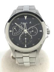 クォーツ腕時計/アナログ/ステンレス/NVY/SLV/5Y66-OAEO