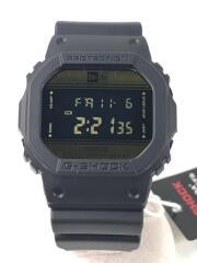 G-SHOCK/DW-5600NE-1JR/クォーツ腕時計/デジタル/ラバー/GLD/BLK