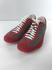 ローカットスニーカー/9M/RED/スウェード