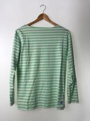 バスクシャツ/13S-NW-002/3/コットン/GRN/ボーダー