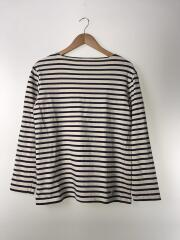 バスクシャツ/4/コットン/NVY/ボーダー