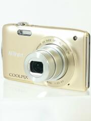 デジタルカメラ COOLPIX S3300 [スイートゴールド]