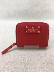 コインケース/牛革/RED/レディース
