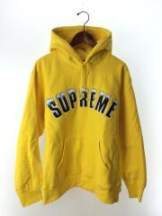 パーカー/M/コットン/YLW/20AW/Icy Arc Hooded Sweatshirt/プルオーバー アーチロゴ