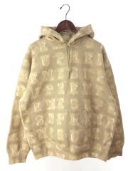 パーカー/M/コットン/BEG/20AW/Blocks Hooded Sweatshirt