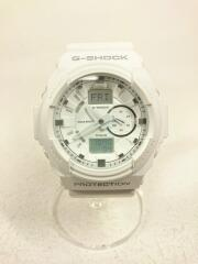 G-SHOCK/CASIO/ジーショック/カシオ/クォーツ腕時計/デジアナ/ラバー/WHT/WHT