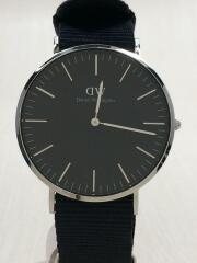 クォーツ腕時計/アナログ/--/BLK/NVY