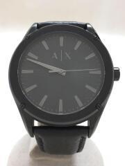 クォーツ腕時計/アナログ/レザー/ax2805
