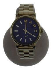 腕時計/アナログ/ステンレス/GLD/BLU/ブルー/ゴールド/MBM3346