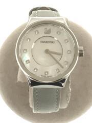 腕時計/5219457/Dreamy Watch/アナログ/レザー/ホワイト/グレー/スワロフスキー