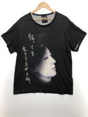 20SS/UCHIDA Face Print T-Shirt TypeA/Tシャツ/ブラック/3
