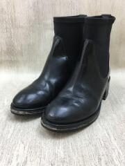 アクネ/サイドゴアブーツ/35/BLK/COMET BLACK/履きジワ有/中古