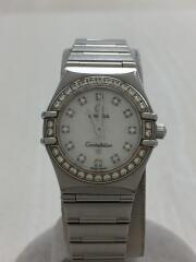 1460.75/コンステレーション/クォーツ腕時計/アナログ/ステンレス/WHT/SLV/Constalletion  ダイヤベゼル
