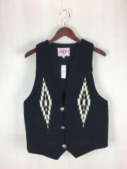 MF CLOTHING COMPANY/ジレベスト/XS/コットン/BLK/中古