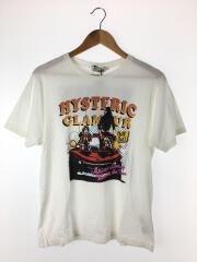 Tシャツ/L/コットン/ホワイト/