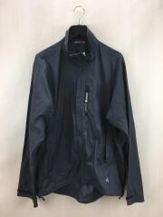 ナイロンジャケット/XL/ポリエステル/グレー