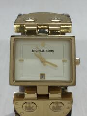 クォーツ腕時計/--/レザー/BEG/BRW