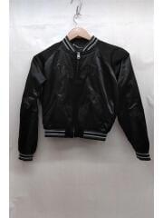 スカジャン/XS/ナイロン/ブラック/X1978X/刺繍/ディーゼル