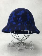MARBLED CASUAL/ヘッドウェア/L/アクリル/ブルー/K3184ST/カジュアル/ウール混