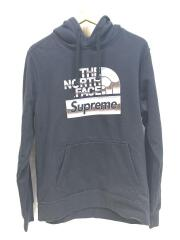 パーカー/M/コットン/BLK/18ss/NORTH FACE/Metallic Logo Hooded Sweats