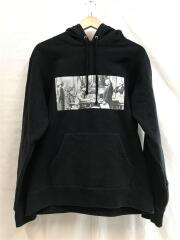 18AW/Reconstructed History Hooded Sweatshirt/パーカー/M/BLK