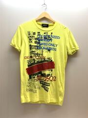 Dont Need Therapy Tee/Tシャツ/M/コットン/YLW