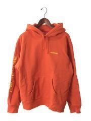 20AW/peace hooded sweatshirt/パーカー/M/コットン/ORN/プルオーバー バック刺繍