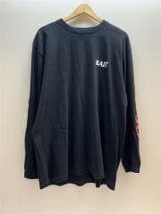BAIT/長袖Tシャツ/XL/コットン/BLK