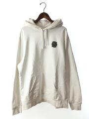 18ss/lacoste/Sweatshirt/ヨゴレ有/パーカー/XL/コットン/WHT