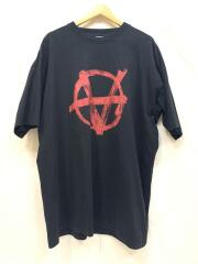 20ss/SS20TR297/ANARCHY TEE/アナーキー/Tシャツ/XS/コットン/BLK