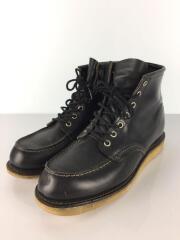 ブーツ/US8.5/BLK/レザー/8179