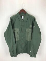 M-43/HBT/ヘリンボーンツイル/長袖シャツ/ミリタリージャケット/48/コットン/