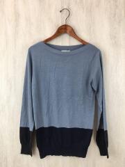 セーター(薄手)/XS/ウール/グレー