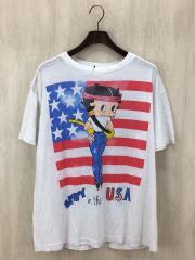 BETTY/Tシャツ/コットン/ホワイト