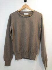Maison Margiela/20SS/セーター(薄手)/S/ウール/ブラウン