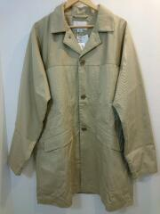 Chino Short Soutien Collar Coat/ステンカラーコート/L/ナイロン/ベージュ