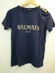 Tシャツ/36/コットン/NVY