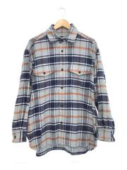 FLANNEL SHIRTS/ネルシャツ/1/コットン/ブルー/チェック/18FUS06A