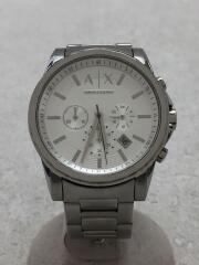 クォーツ腕時計/アナログ/ステンレス/AX2058